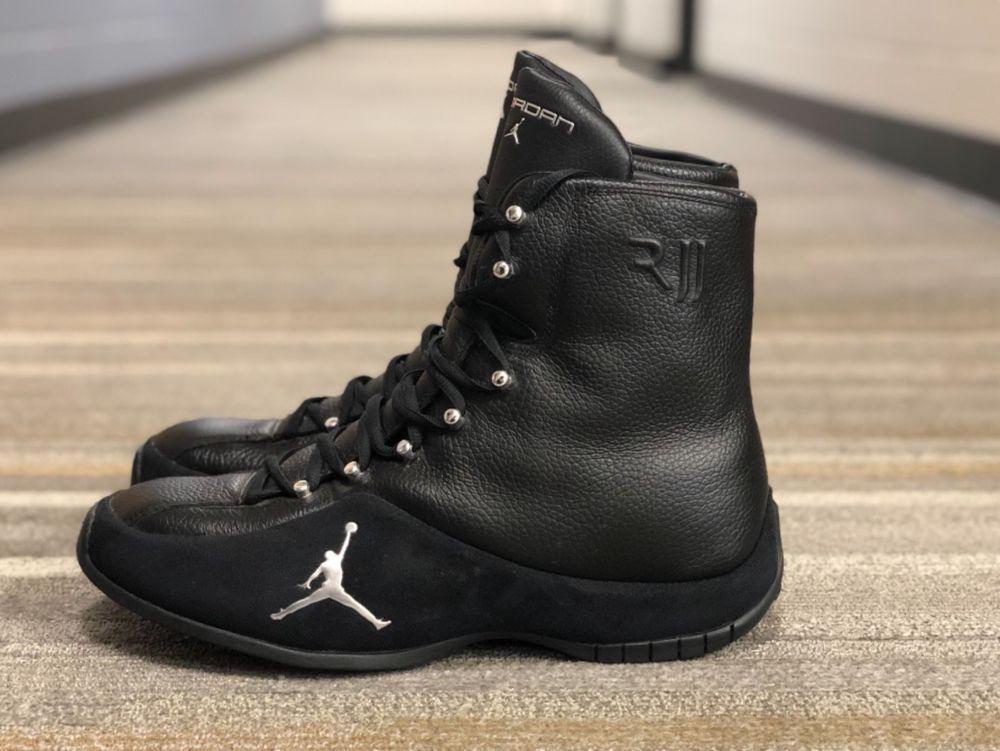 RARE Air Jordan, Roy Jones Jr Boxing Shoes Boots, Size 12 RJJ ...