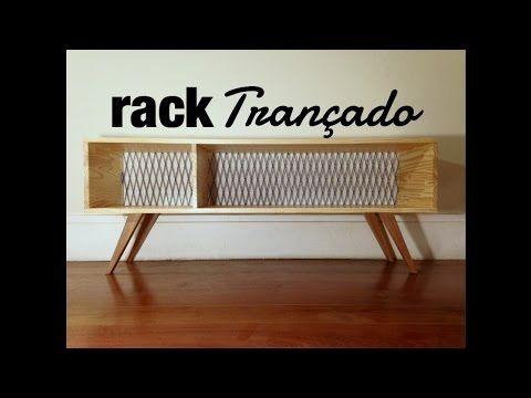 Rack Trançado ( móveis - faça você mesmo ) design DIY