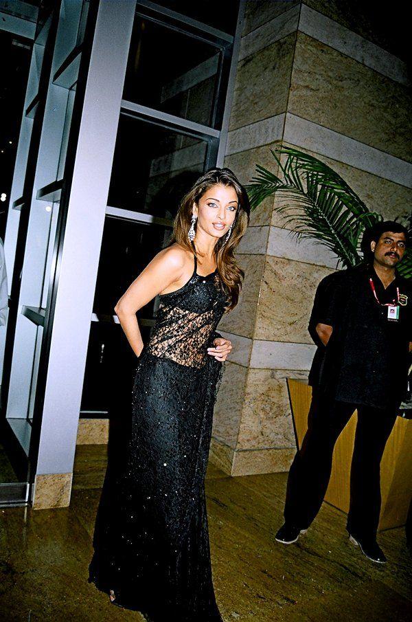 Aishwarya Rai Vintage Bollywood Aishwarya Rai Black Lace