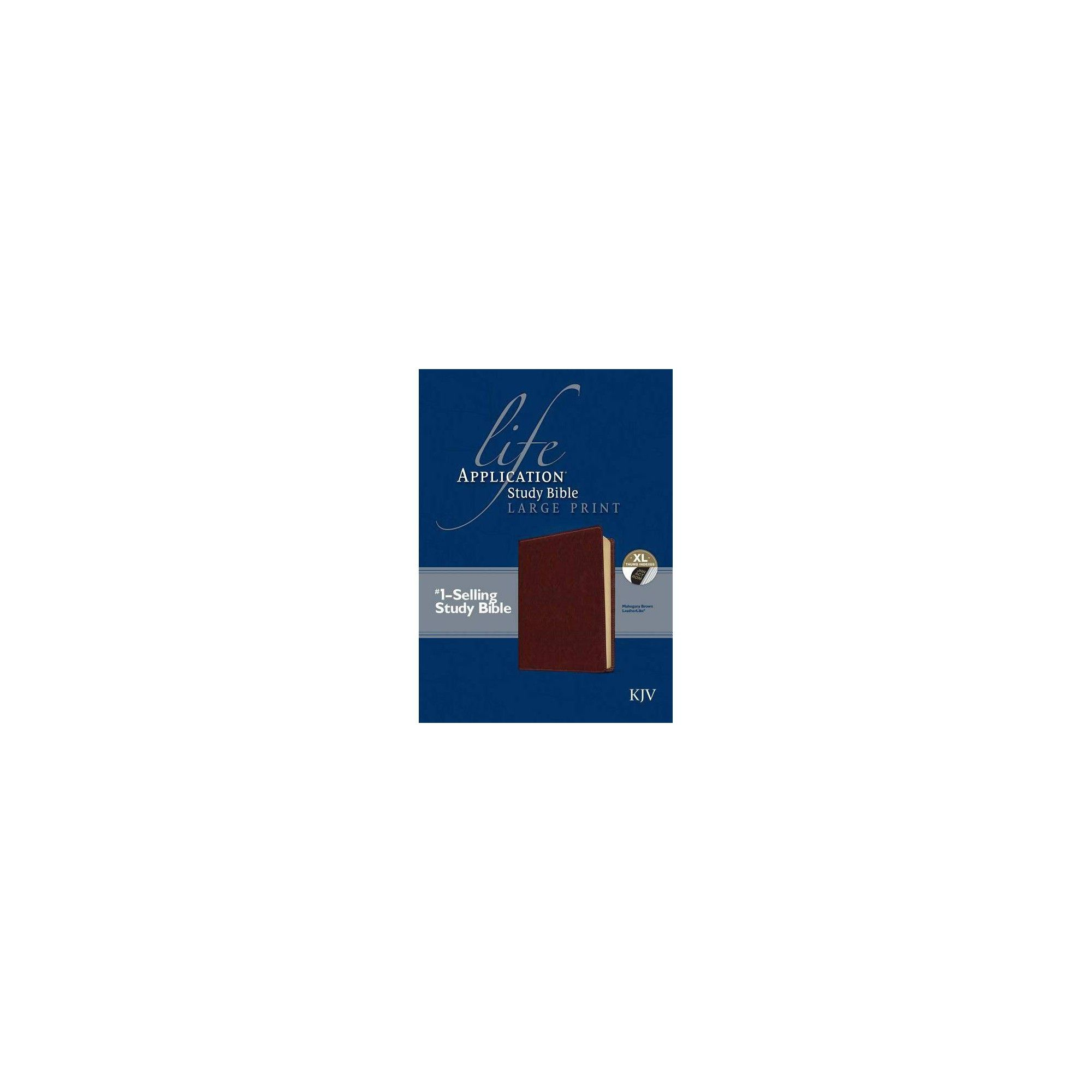 Life Application Study Bible KJV, Large Print (Leather