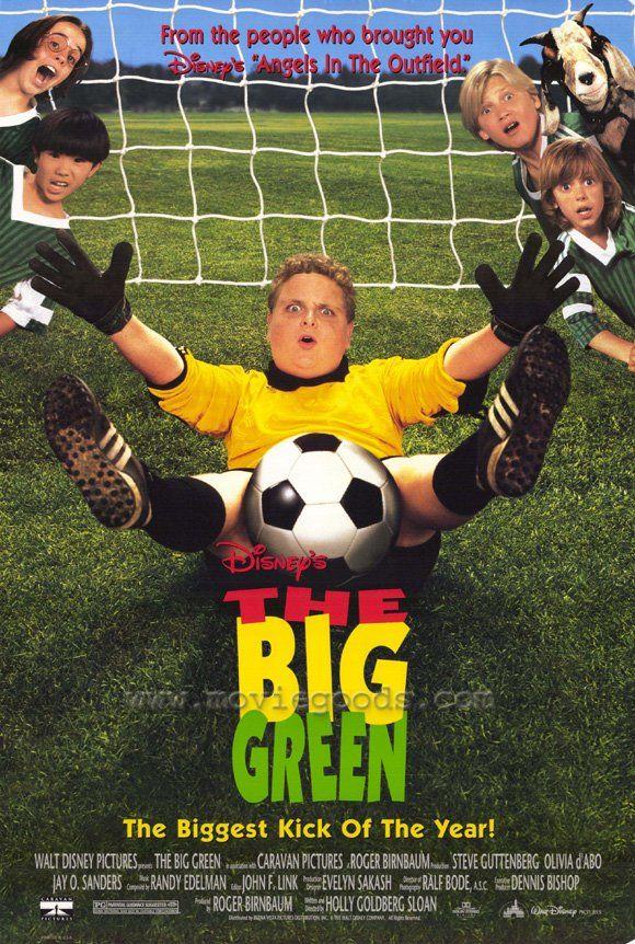The Big Green My Childhood Favorite Soccer Movie Green Movie Kid Movies Childhood Movies