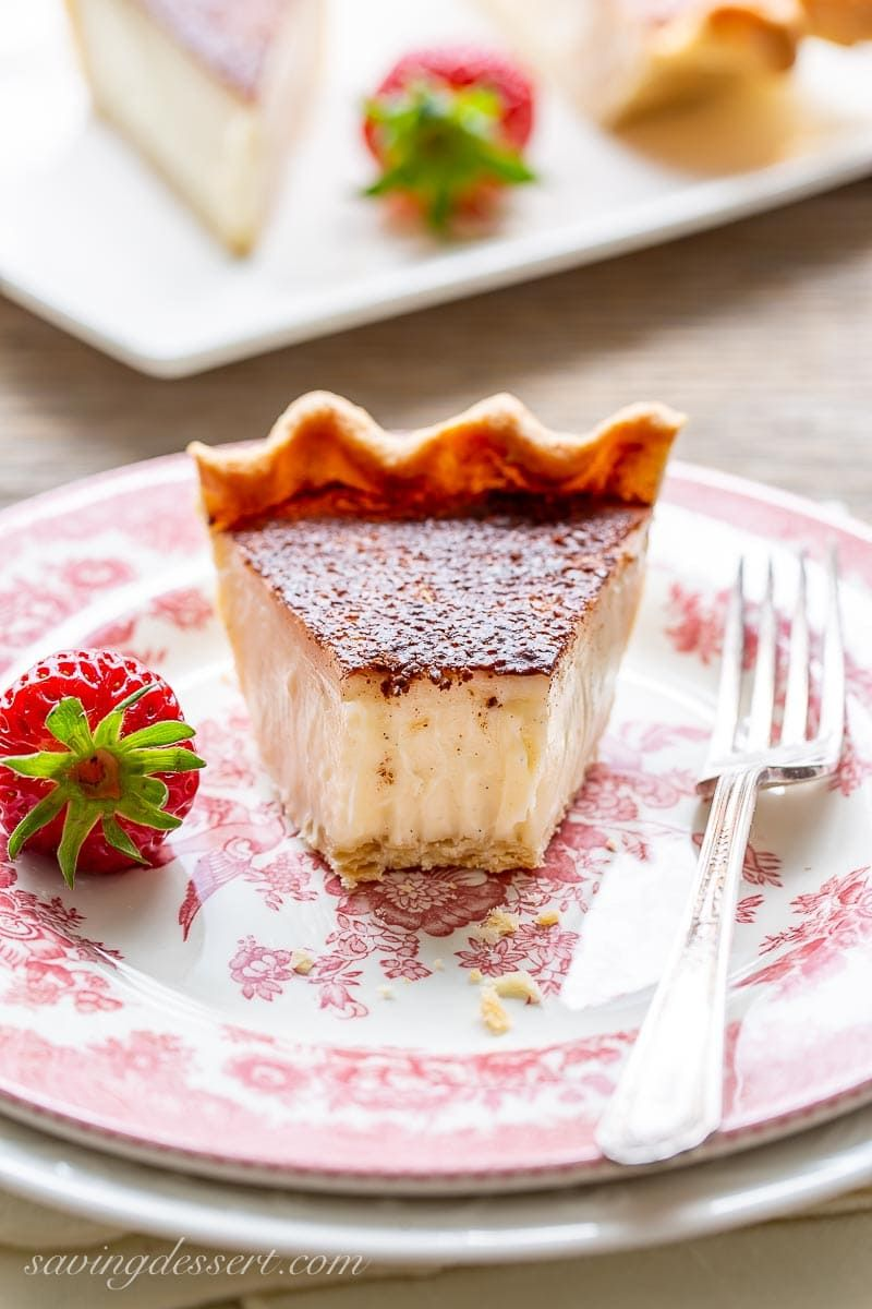 Hoosier Sugar Cream Pie Recipe - Saving Room for Dessert