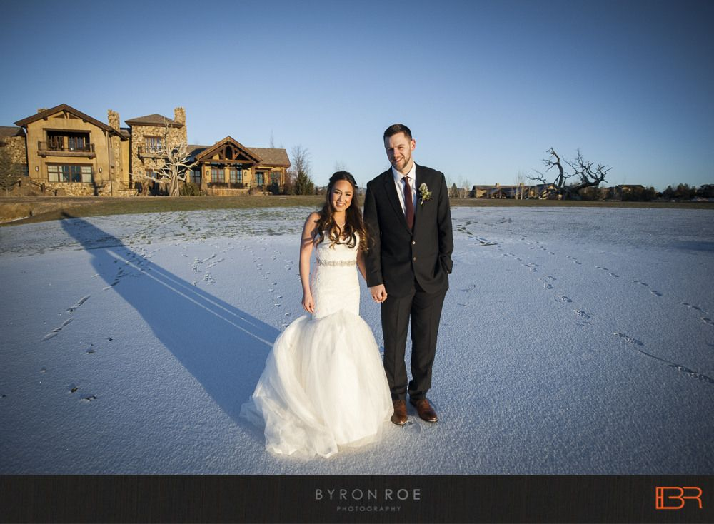 Jeff + Alexis} New Years Eve Winter Wedding Photography