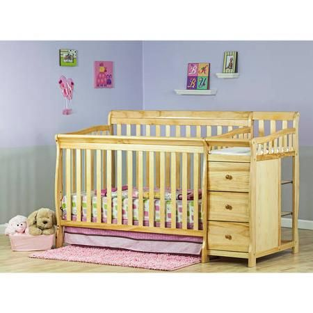 Dream On Me Brody 5 In 1 Convertible Crib With Changer Natural Walmart Com In 2020 Winnie The Pooh Nursery Baby Bed Crib Bedding