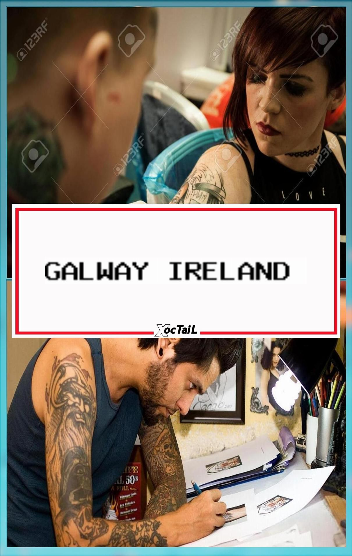 Galway Ireland September 12 Tattoo Artists At Work During Artist Tattoo Drawing Become Professional Tattoos Practice Tips Tattooing Ink Artists Designs Ske In 2020