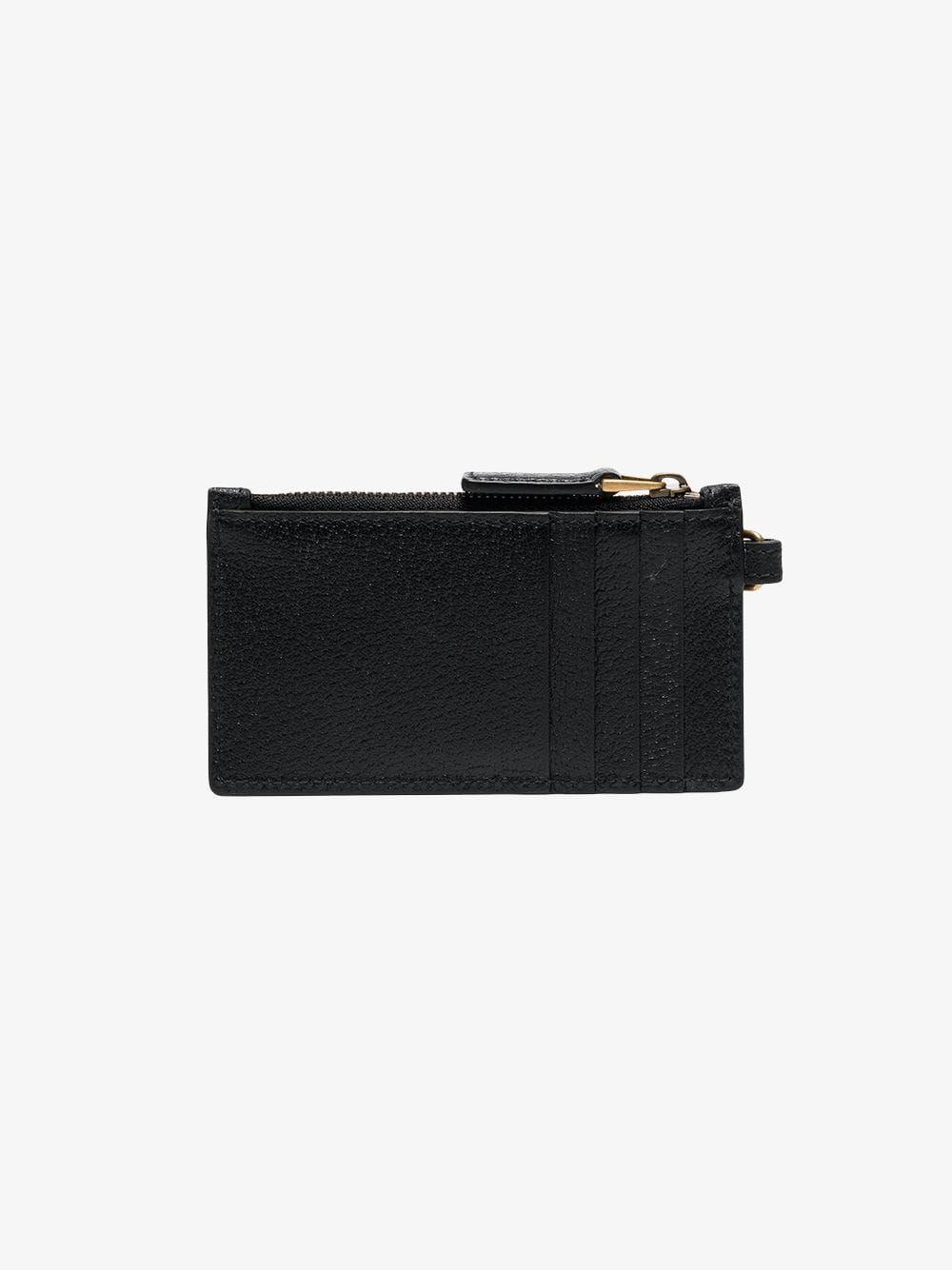 93f9b181dea876 GUCCI GUCCI BLACK LOGO EMBOSSED CARD HOLDER. #gucci | Gucci ...