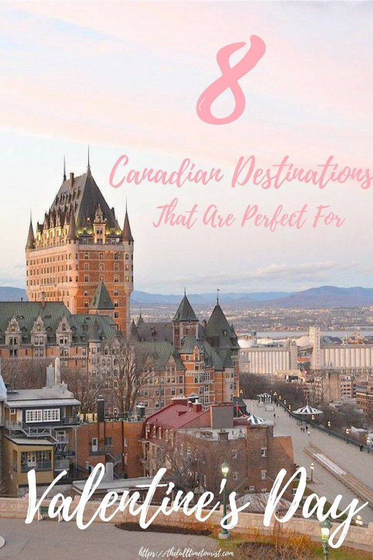 8 canadian getaways that are perfect for valentine's day | quebec