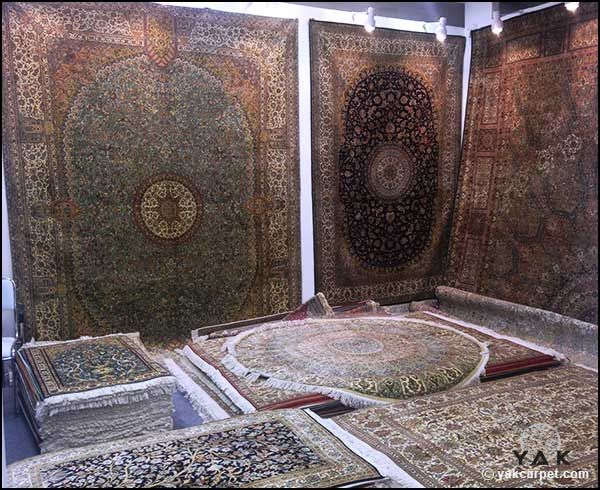 Yak Carpet At The Carpet Expo 2015 Displaying Its Beautiful Handmade Kashmir Silk Rugs Homedecor Weloveru Indische Interieurs Interieur Indisch