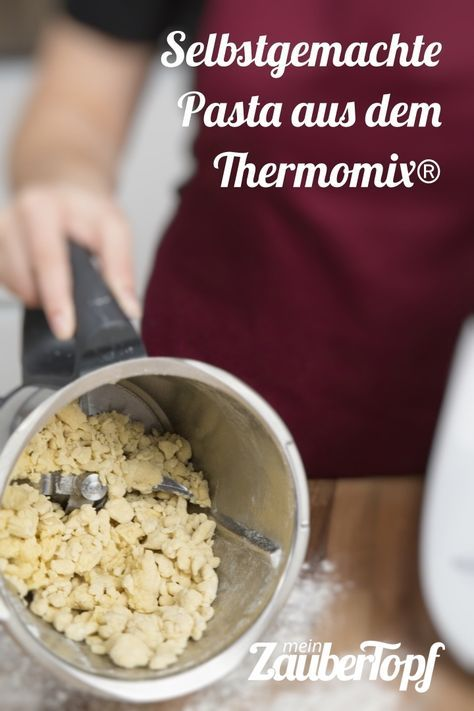 Selbstgemachte Pasta aus dem Thermomix: Linguine - mein ZauberTopf