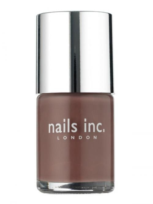 Nails Inc. London... Jermyn Street which is a gorgeous minky brown