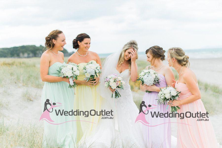 Rainbow Wedding Theme Rainbow Wedding Rainbow Bridesmaid Dresses
