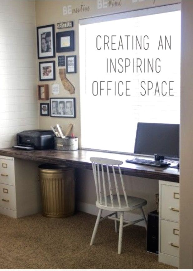 Creating an inspiring small home office diy decorating - Creating a small home office ...