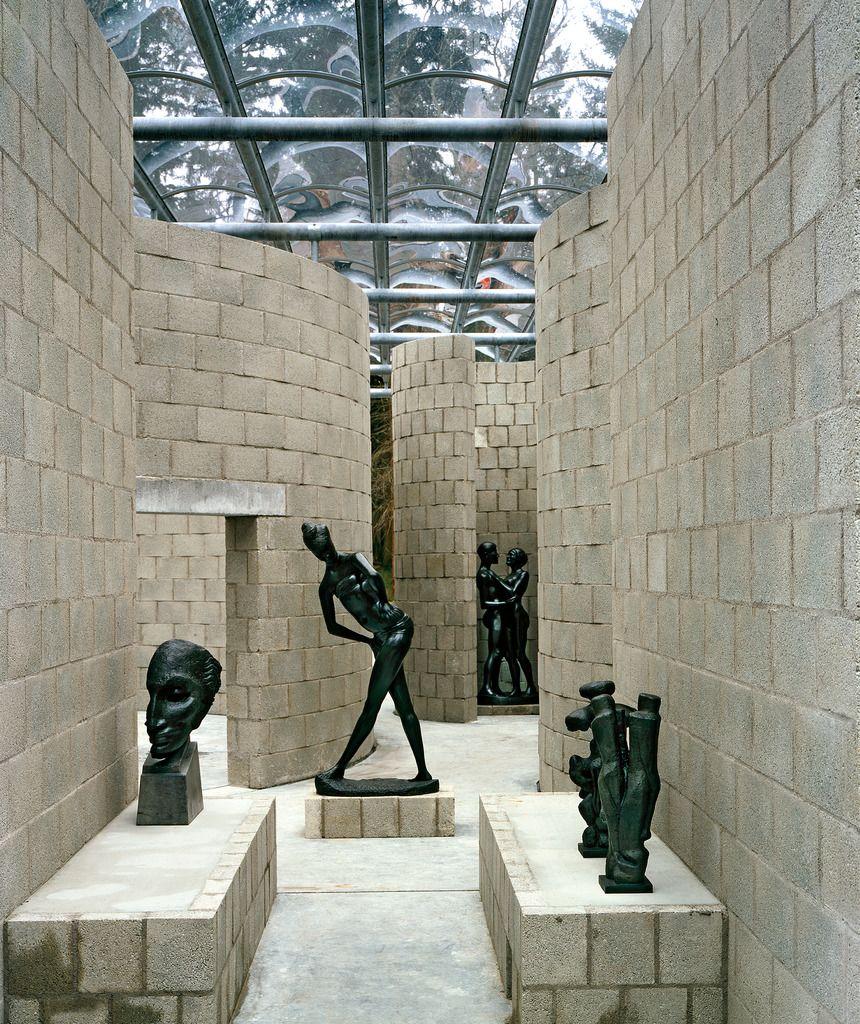 Aldo van Eyck sculpture pavilion