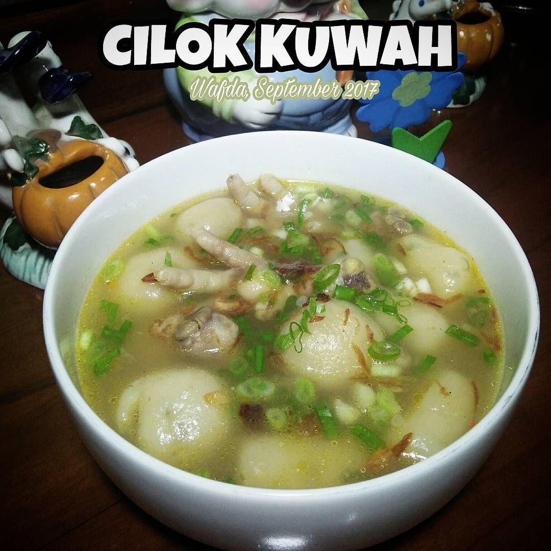 Resep Cilok Kuah By Dapurwafda Resep Masakan Indonesia Resep Masakan Ide Makanan