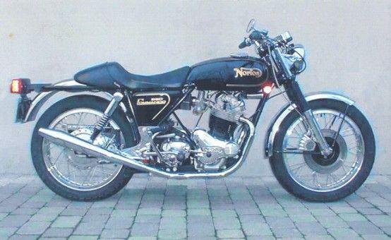 Classic Norton Commando 850 motorcycles