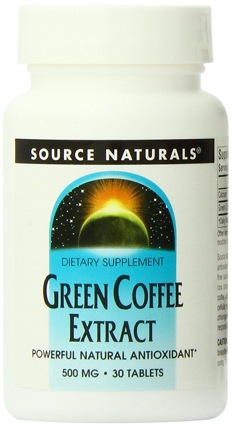 Source Naturals Green Coffee Extract, 30 Tablets *** See this great image  : Herbal Supplements