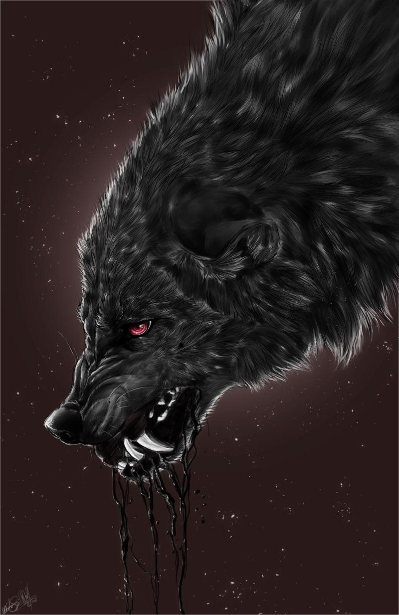 Werewolf 狼男 オオカミ 動物
