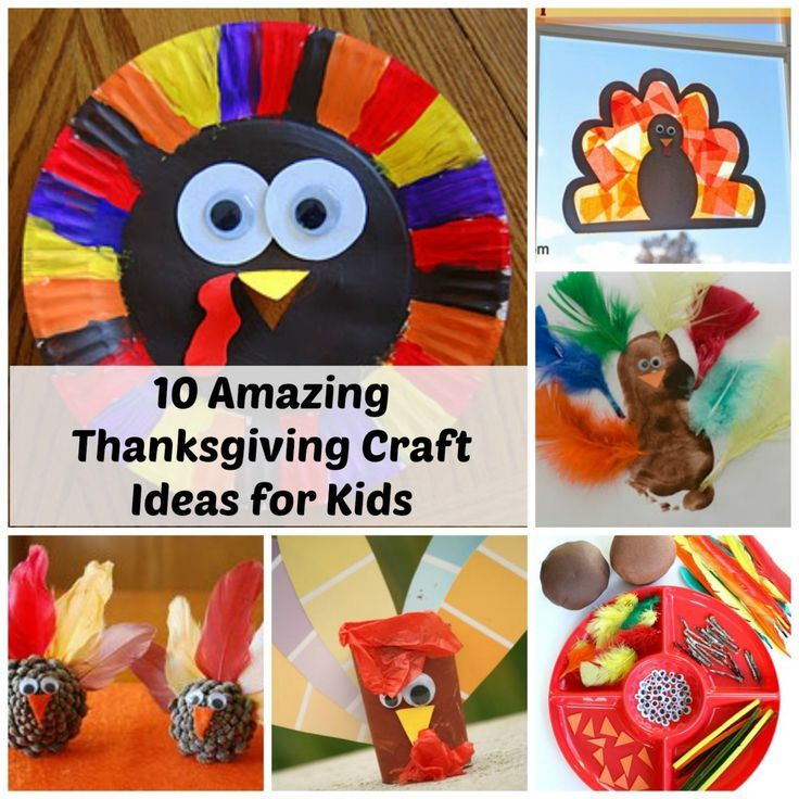thanksgiving crafts ideas for kids