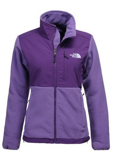aacc7b77a Womens The North Face Denali Fleece Jacket Plush Purple | I want ...
