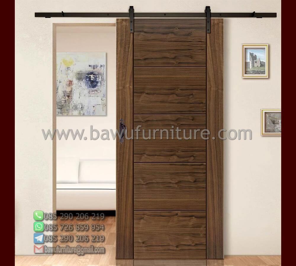 Pintu Kamar Tidur Model Minimalis Geser Dari Kayu Jati | Baw…