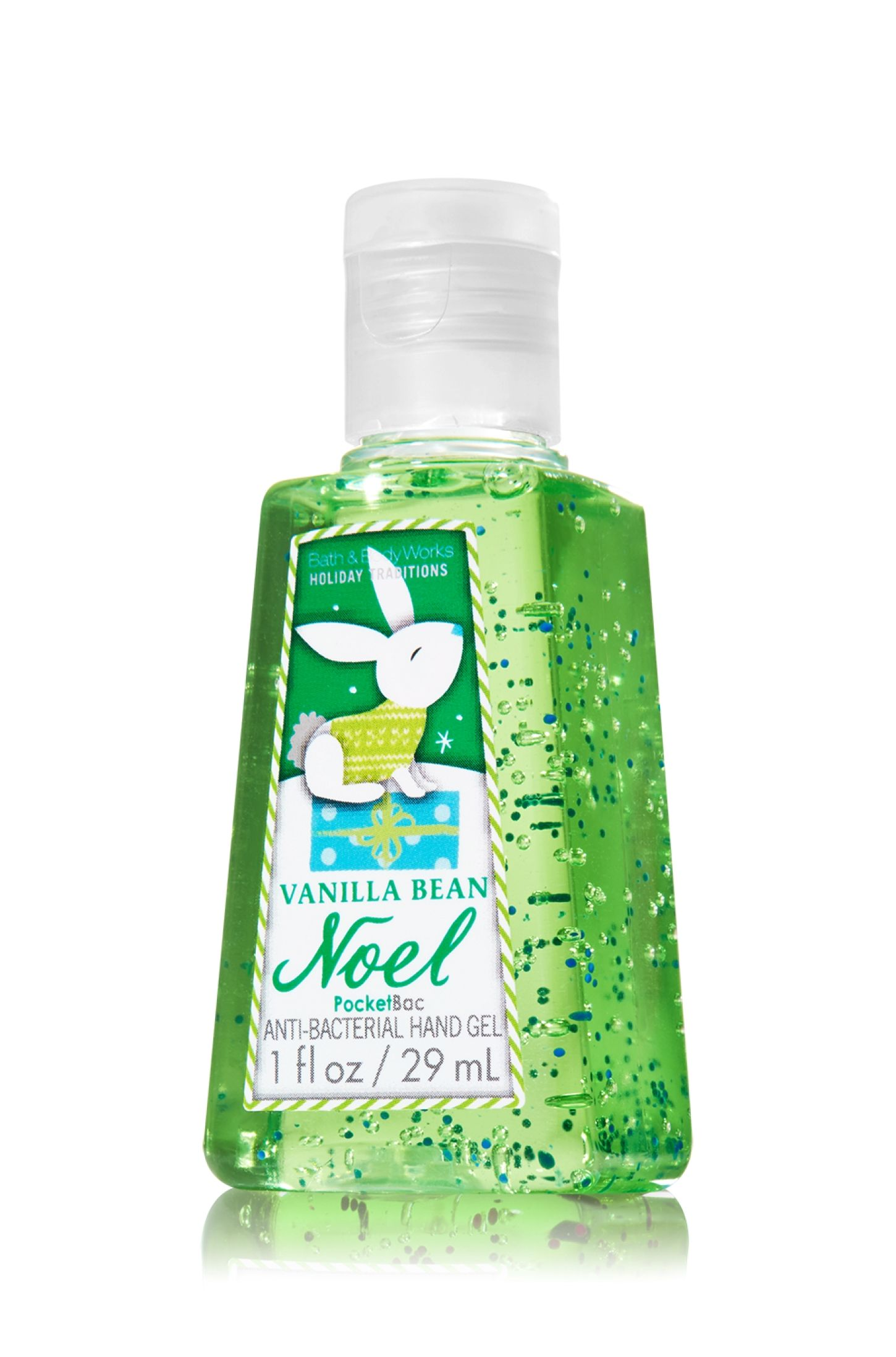 Vanilla Bean Noel Pocketbac Sanitizing Hand Gel Anti Bacterial