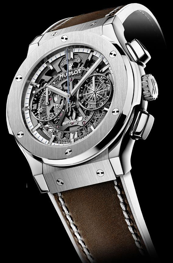 la cote des montres la montre hublot classic aerofusion chronograph special edition la. Black Bedroom Furniture Sets. Home Design Ideas