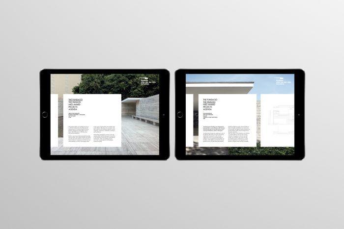 Mies Van Der Rohe Design Philosophy.New Brand Identity For Mies Van Der Rohe Foundation Brand