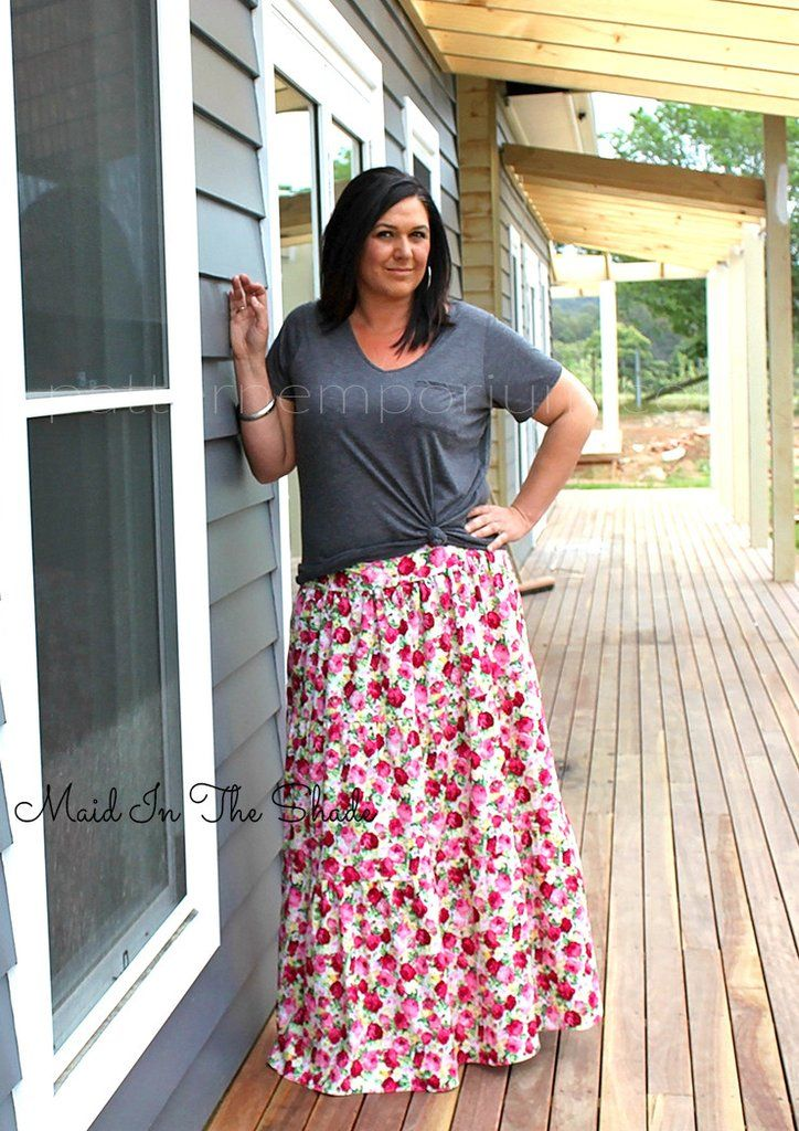 Tiered Maxi Skirt Skirt Patterns Sewing Maxi Skirt Womens Skirt