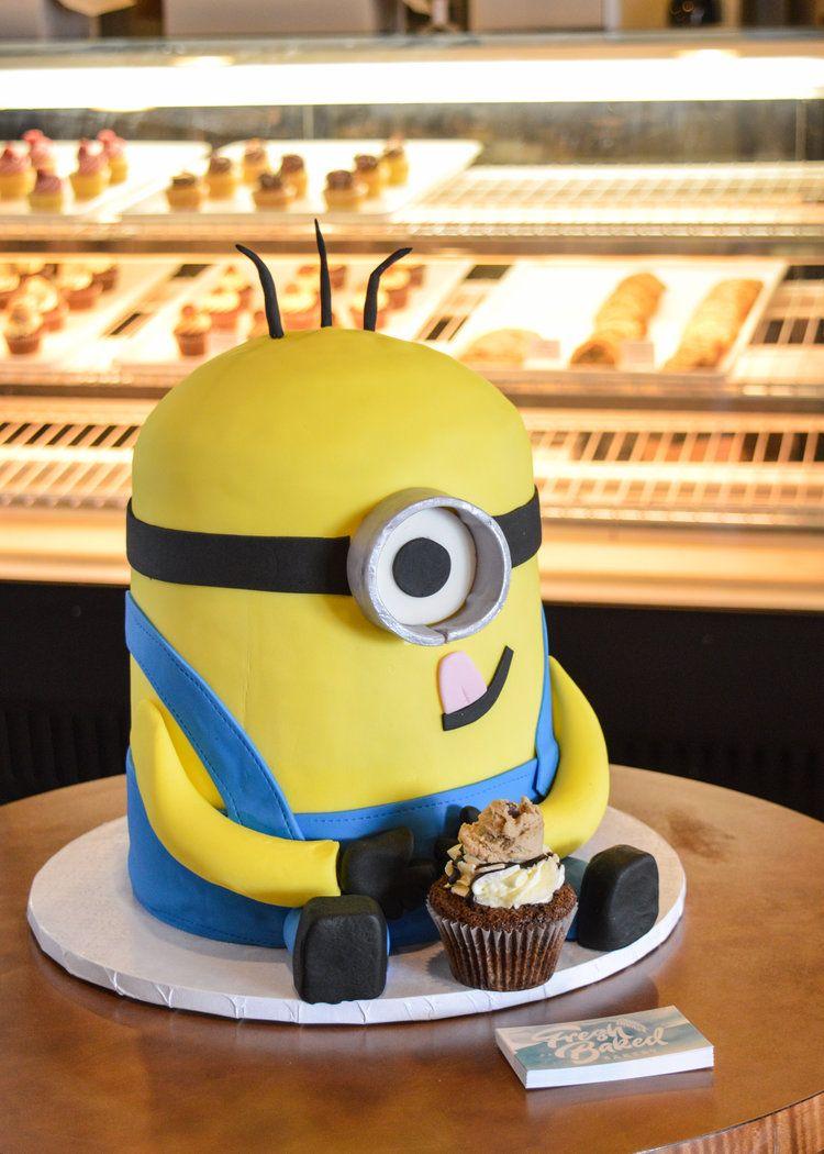 Minion Themed Birthday Cake Roanoke Virginia Birthday Cakes