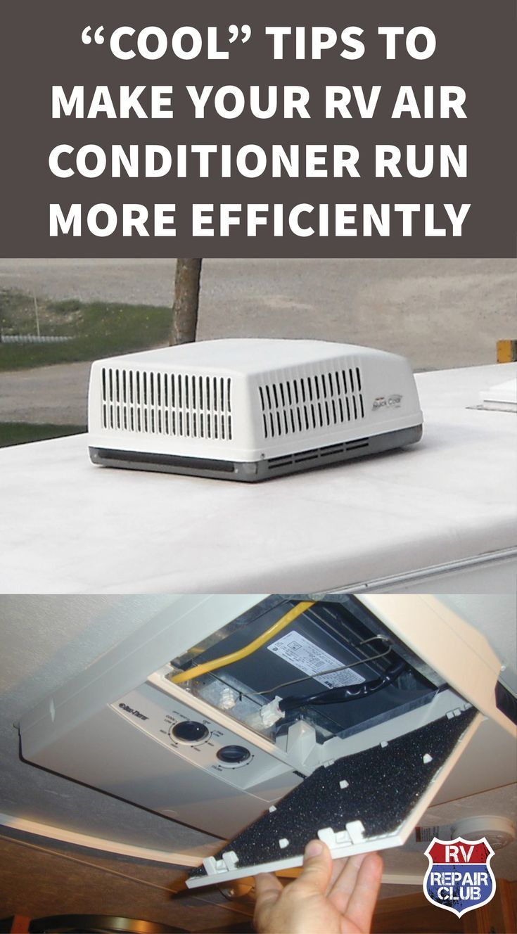 Photo of Tips to Make Your RV Air Conditioner Run More Efficiently | Rv air conditioner, Rv camping, Camping