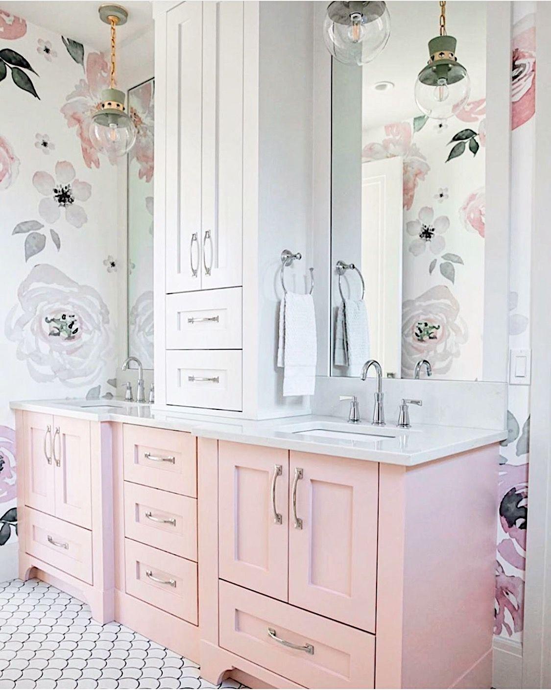 Photo of Watercolor Floral Jolie Wallpaper