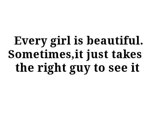 Every girl is beautiful quotes quote beautiful girl girly quotes