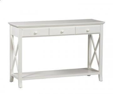 white sofa table. Warwick White Sofa Table C