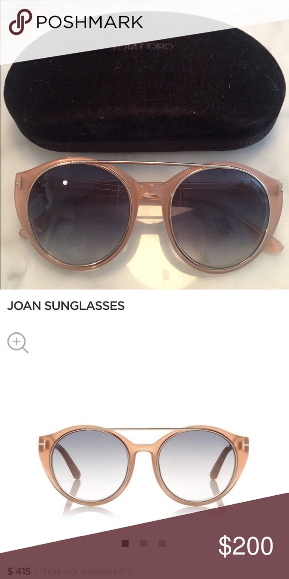 3672a69072b Authentic Tom ford sunglasses 😎 AUTHENTIC tom ford suglasses nude color  small scratches but nothing noticeable READY FOR SOMEONE TO BUY!