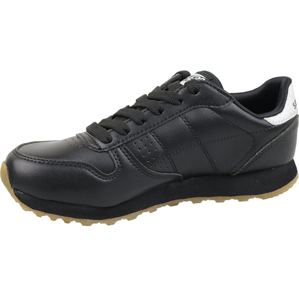 Sports Women S Inny Skechers Og 85 Old School Cool W 699 Blk Shoes Black Skechers Black Shoes All Black Sneakers
