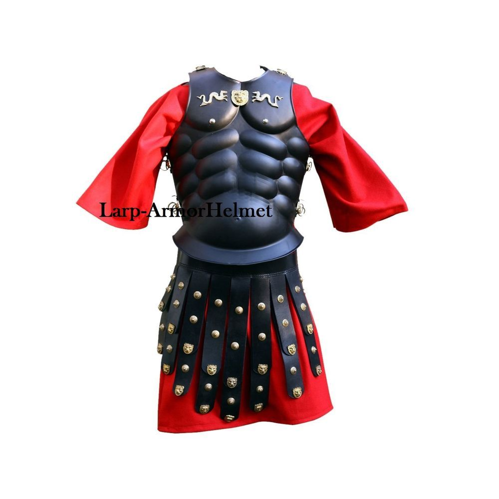 Royal Muscle Armor w//Apron Belts Black