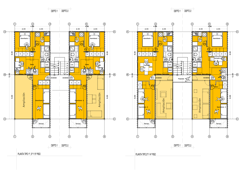 Vivienda colectiva vivienda social en contenedores for Arquitectura contenedores maritimos