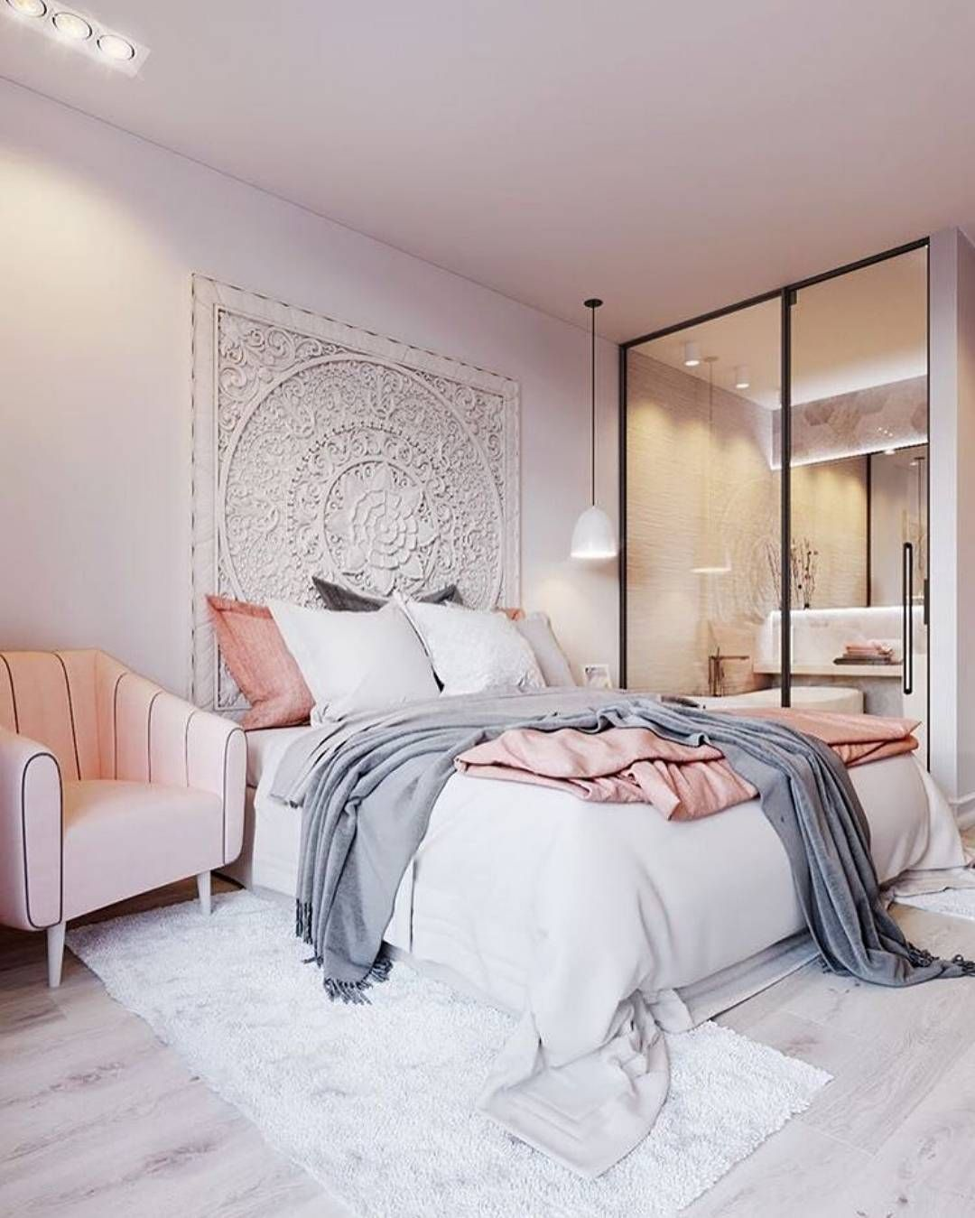 Wall Bedroom Decor Impressive Love The Design On The Wall 3  Home Design And Renovation Design Inspiration