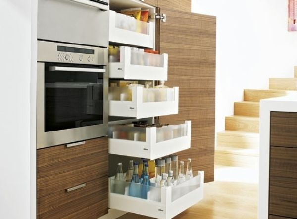 Vertical Kitchen Small Spaces