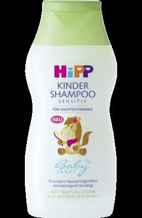 Das Hipp Babysanft Kinder Shampoo Fur Leichtes Kammen Mit Naturlichem Bio Mandelextrakt Enthalt Keine Allergieverdachtigen Duftmittel Sowi Shampoo Kinder Sanft