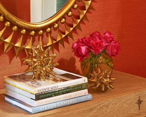 "Holly Philips, the residential interior designer of ""The English Room,"" loves color. She describes h"