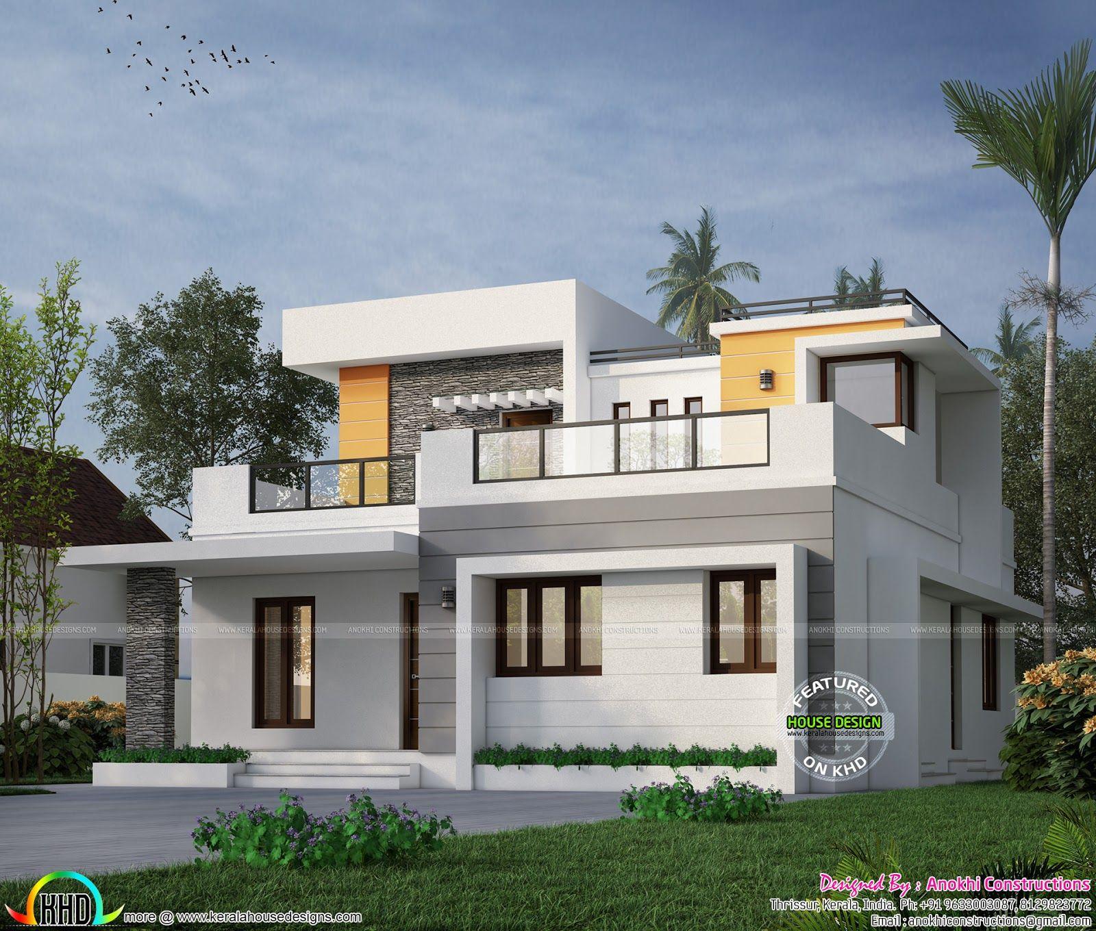 House Construction For 26 Lakhs Kerala House Design Bungalow House Design Modern Style House Plans