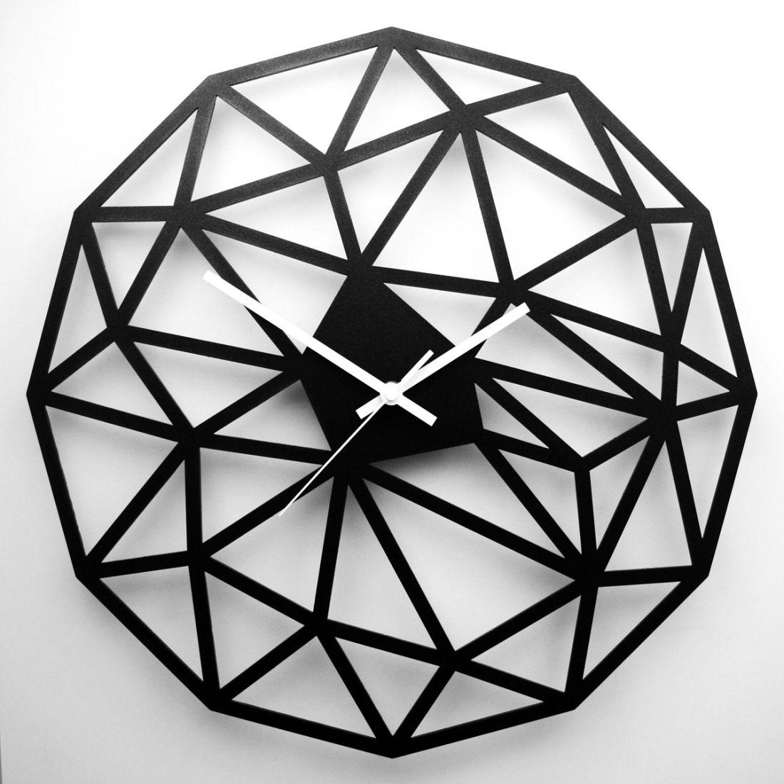 Horloge Platinium Polygon Design Horloges Design Wall Design