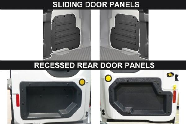 Conversion Van Door Pockets