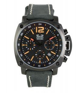Reloj S&S Mod. GU-1916-BS Negro/Naranja