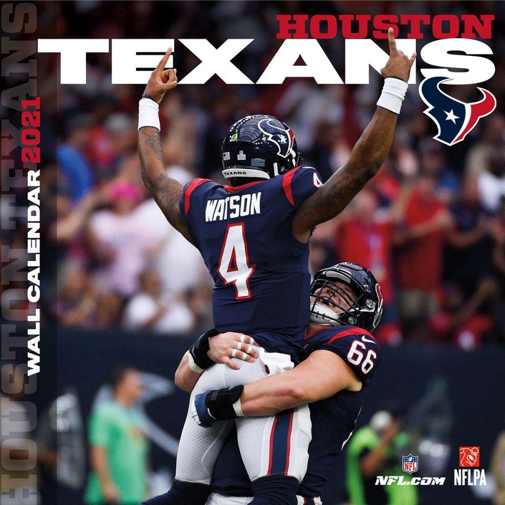 Houston Texans 2021 Calendars | Sports Calendars.| Nfl houston