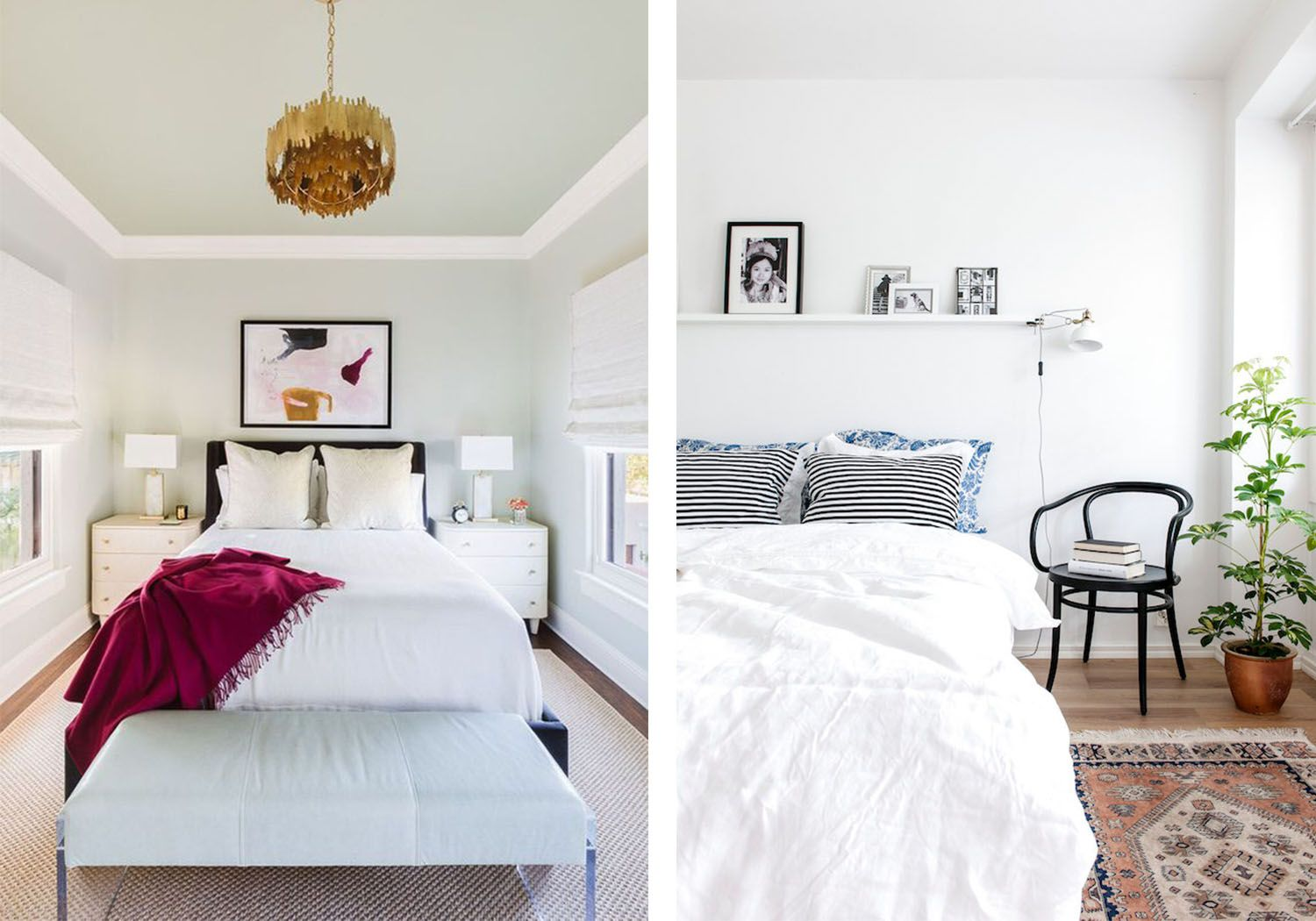 How to Maximize Space in a Small Bedroom Small bedroom
