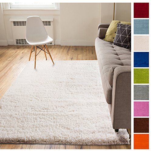 Solid Retro Modern Ivory Off White Shag 5x7 5 X 7 2 Kids Room Accessories Kids Living Rooms Kids Rugs