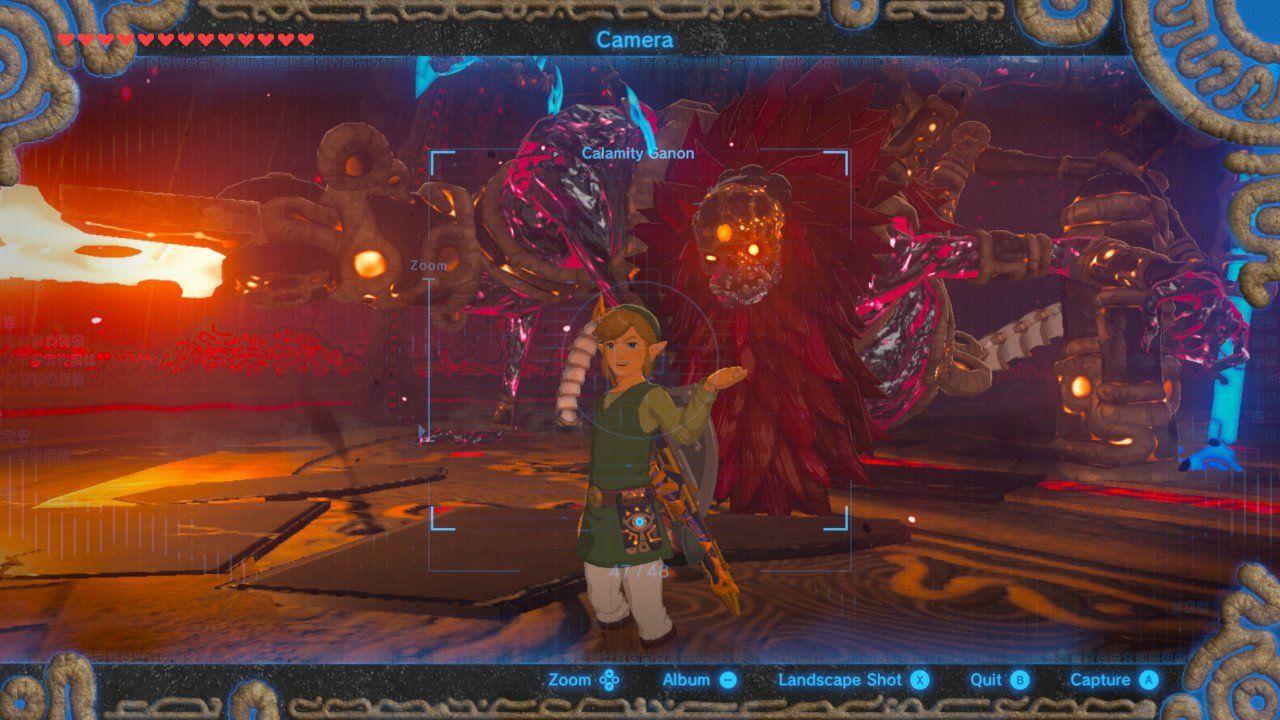 Zoom Background Zelda