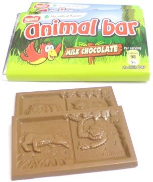 2 Play Dominoes With Nestle Animal Bars Childhood